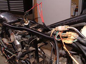 スズキ GT125 解体