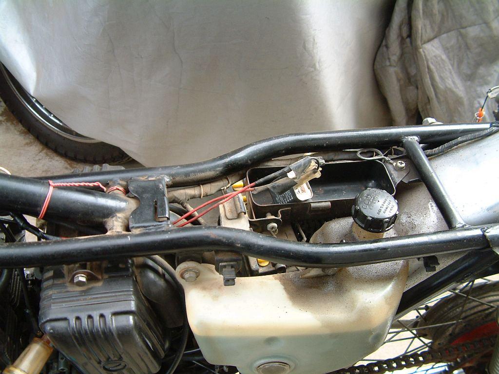 GT125 解体