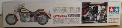 タミヤ 1/12 ヤマハ XV1600 パッケージ側面