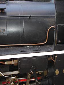 5インチゲージ C62 シリンダ給油ポンプ