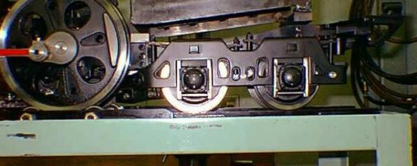 5インチゲージ C62 従輪