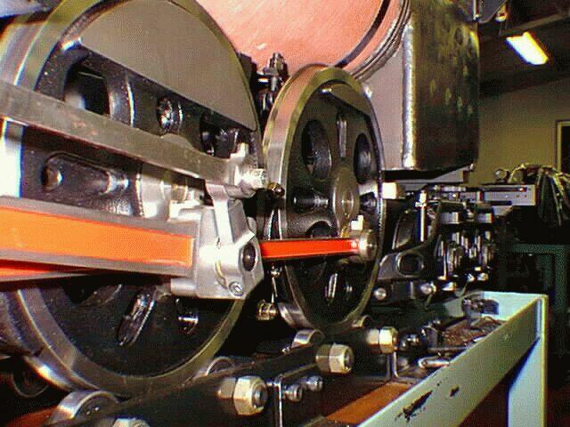 5インチゲージ C62 動輪のタイヤ