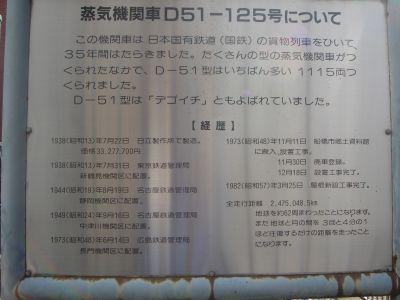 D51 125 案内板