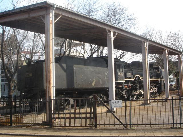 D51形機関車 (D51 385)