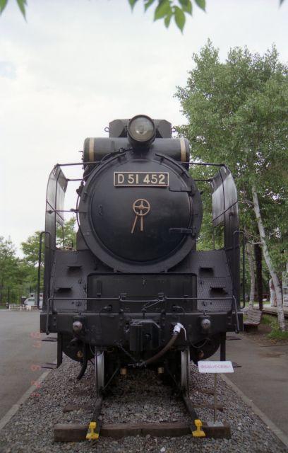 D51形機関車(D51 452)