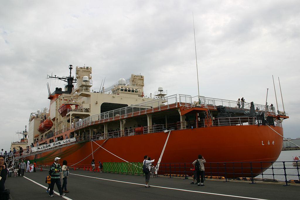 南極観測船 新・しらせ