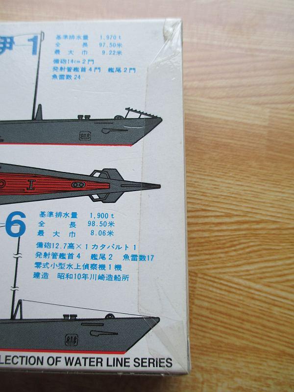 アオシマ 1/700 伊-1 & 伊-6 パッケージ