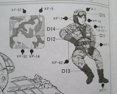 タミヤ 1/35 61式戦車 コマンダー 迷彩塗装