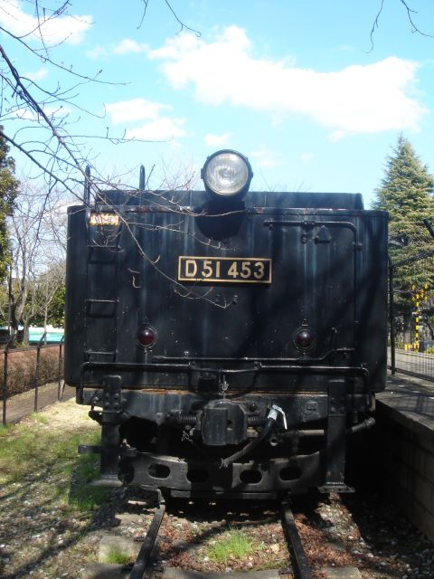 D51形機関車 (D51 453)