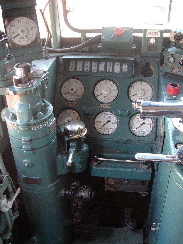 EF65 500番台 運転台