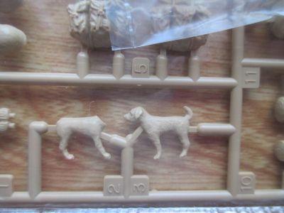 タミヤ 1/35 エイブラムスに付属の犬