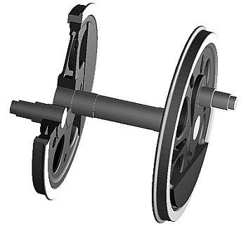 動輪のカット図