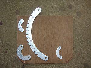 Nゲージコントローラ用ノッチ板