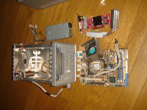 Shuttle SB61G2の電源