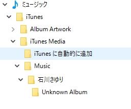 iTunes foler