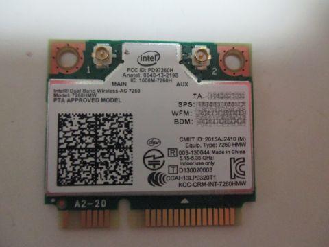Intel Dual Band Wireless-AC 7260 HMW