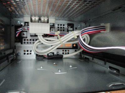 中から見た拡張USBポート