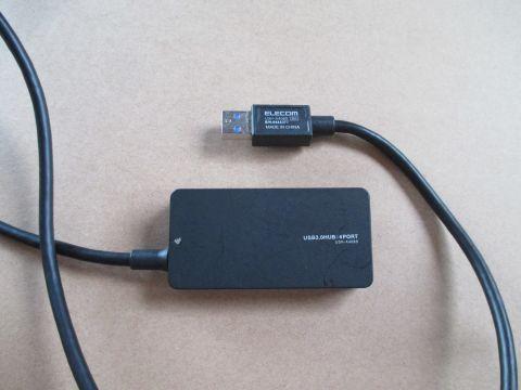 USBハブ U3H-A408S