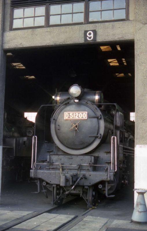 D51形機関車 (D51 200)