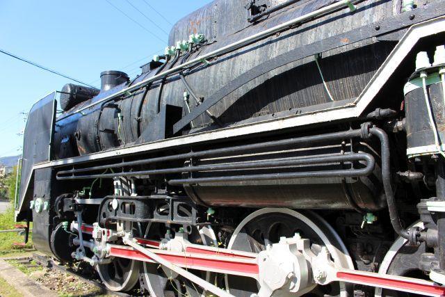 D51形機関車 (D51 422)
