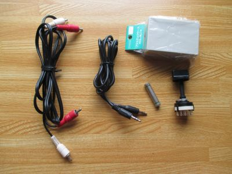 ミニプラグ切替器:使用パーツ
