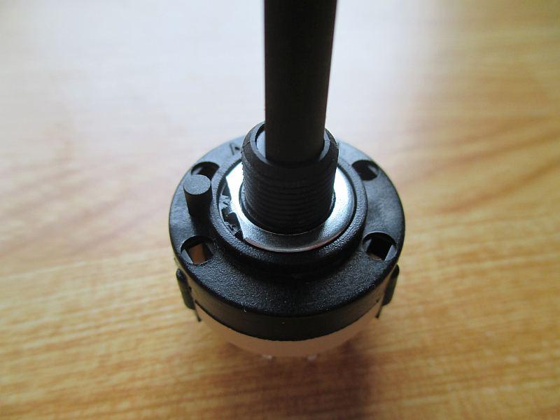 ミニプラグ切替器:ロータリースイッチ
