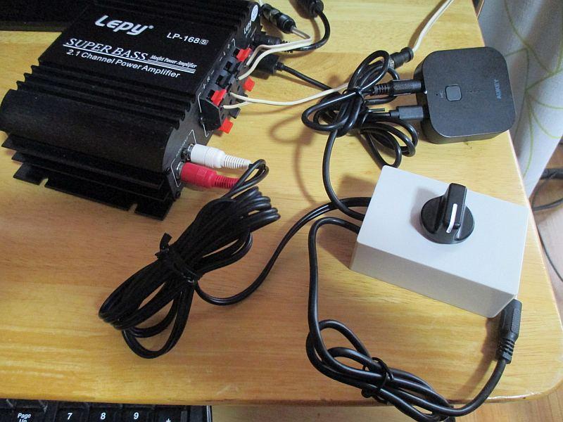 ミニプラグ切替器:接続