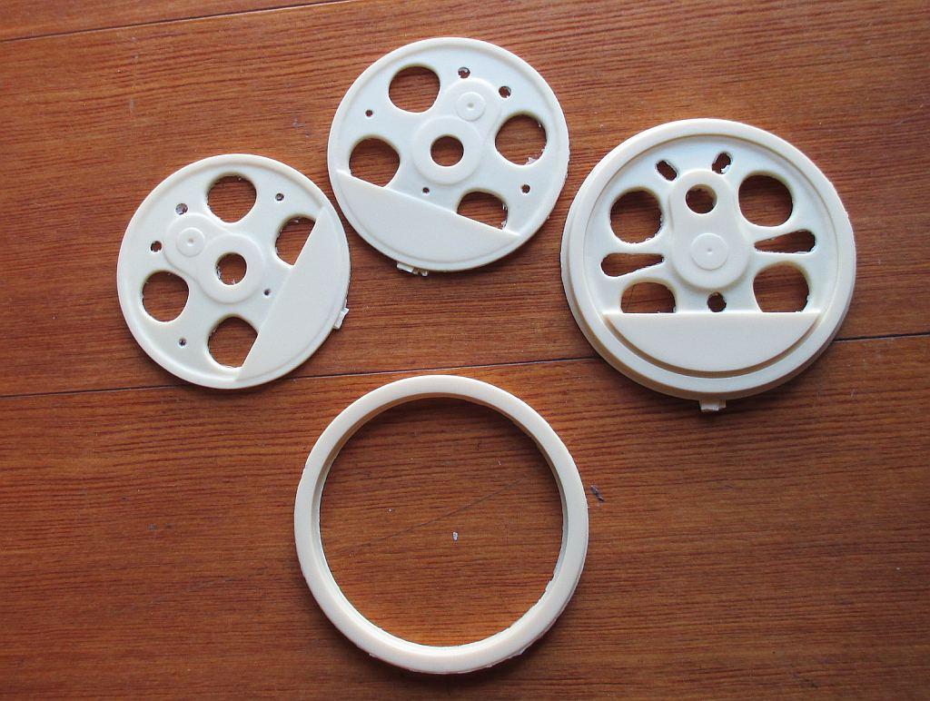 レジンで作った動輪