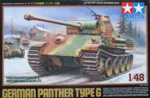 タミヤ 1/48 パンサーG型