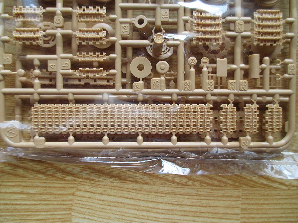 タミヤ 1/48 パンサーG型 キャタピラ