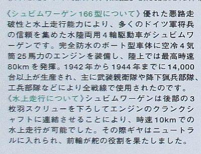 タミヤ 1/48 シュビムワーゲン 解説