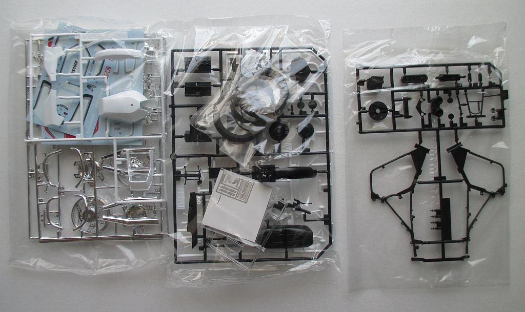 アオシマ 1/12 ホンダ CBX400F パーツ