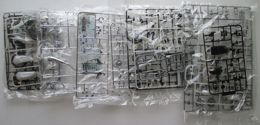 アオシマ 1/12 ヤマハ XJR400S パーツ