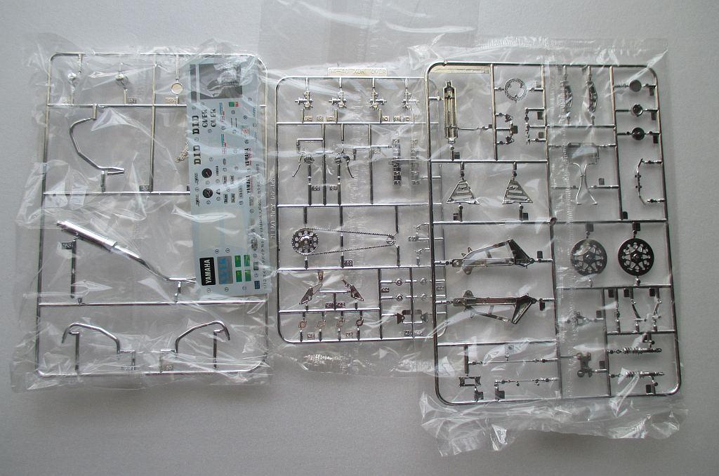 アオシマ 1/12 ヤマハ XJR400S メッキパーツ