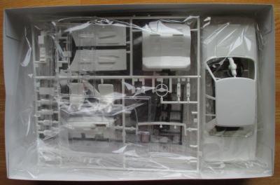 フジミ 1/24 クレスタ GX71 キット構成