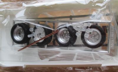 フジミ 1/24 クレスタ GX71 タイヤ