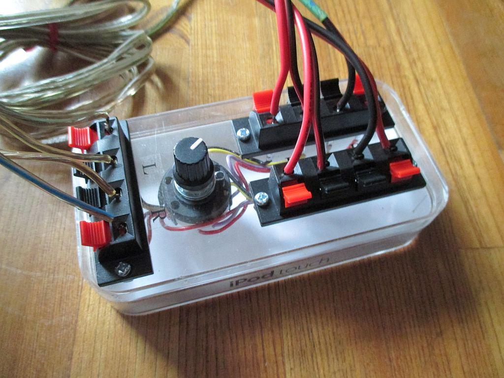 自作のアンプ切替器