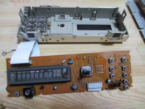 ケンウッド R-SE7 操作パネル 分解