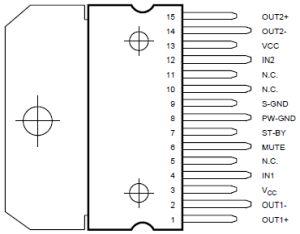 TDA72973ピン配列