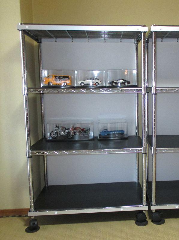 模型飾り棚の工作・完成