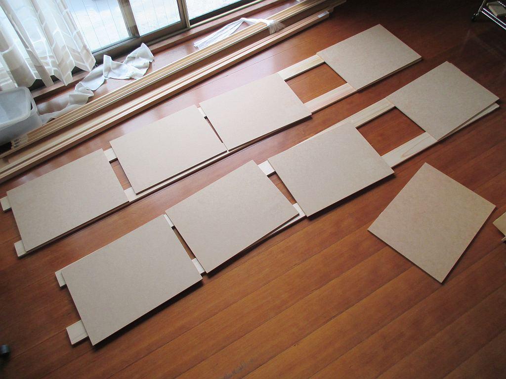 Nゲージレイアウト台枠メイン部・1階の構成