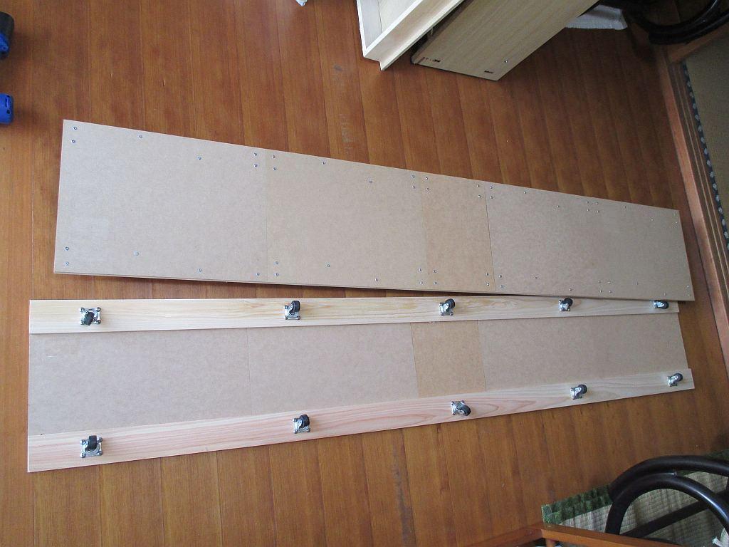 Nゲージレイアウト台枠メイン部・1階