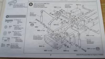 スカニア R620 フロントアクスル組み立て説明