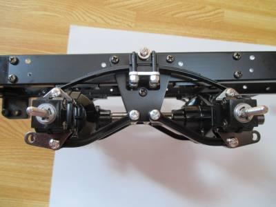 スカニア R620 リヤアクスル取り付け完了