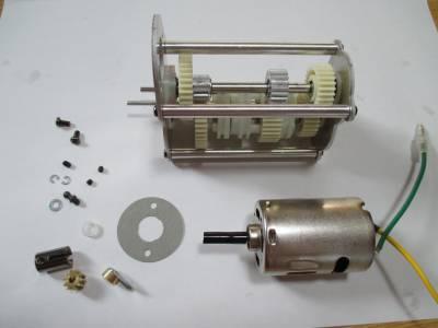 スカニア R620 モーターの取り付け