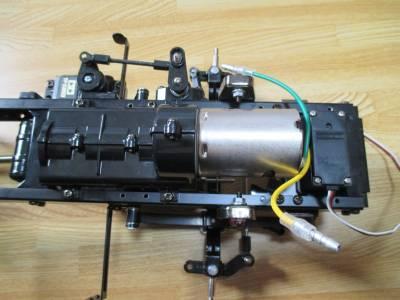 スカニア R620 モーター配線を折り曲げる