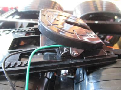 スカニア R620 カプラースイッチ