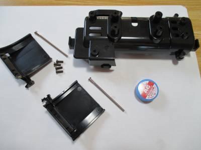 スカニア R620 バッテリーホルダー取り付け組み立てで使用する部品