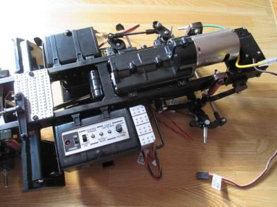 MFC-01 コントロールユニットをフレームに取り付けた状態
