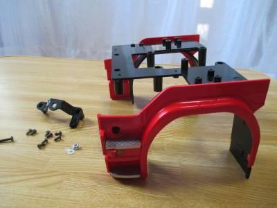 スカニア R620 フロントフェンダー 取り付けに関するパーツ